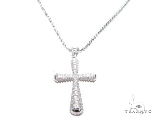Silver Cross Crucifix 42869 Silver