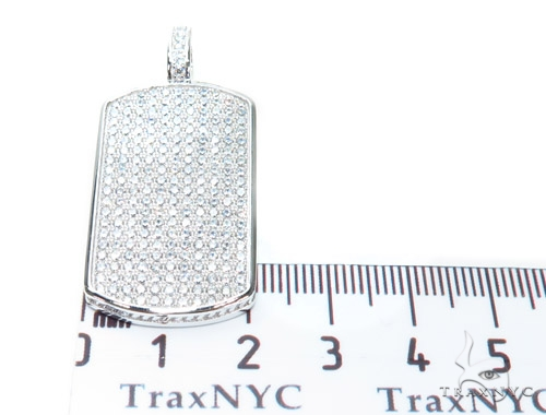 Silver Dog Tag 42872 Metal