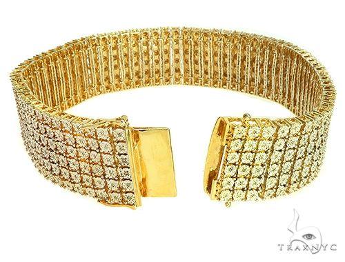 Silver Diamond Bracelet 66151 Silver & Stainless Steel