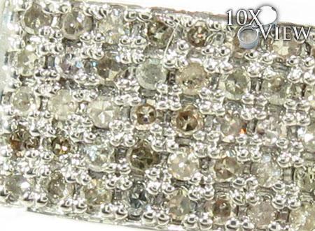 Silver Diamond Ring 28058 Metal