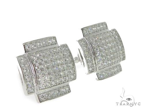 Silver Earrings 49881 Metal