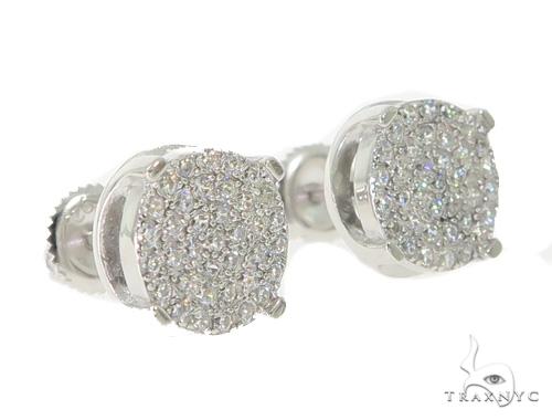 Silver Earrings 49885 Metal