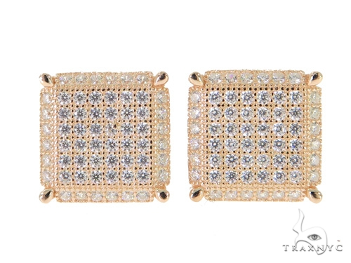 Silver Earrings 49895 Metal
