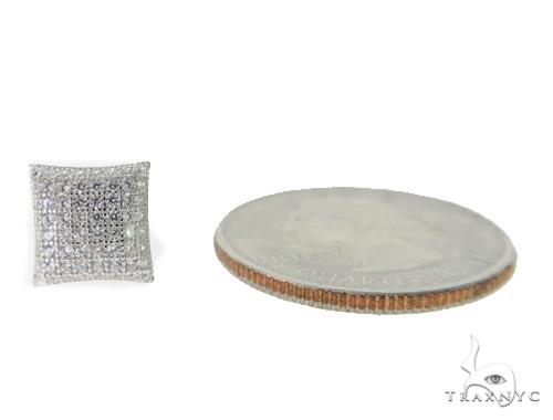 Silver Earrings 49898 Metal