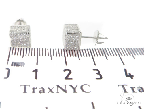 Silver Earrings 49904 Metal