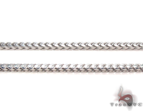 Silver Franco Chain 30 Inches, 3mm, 22.1Grams Silver
