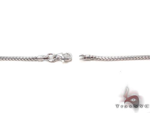 Silver Franco Chain 36 Inches, 2mm, 10.2Grams Silver