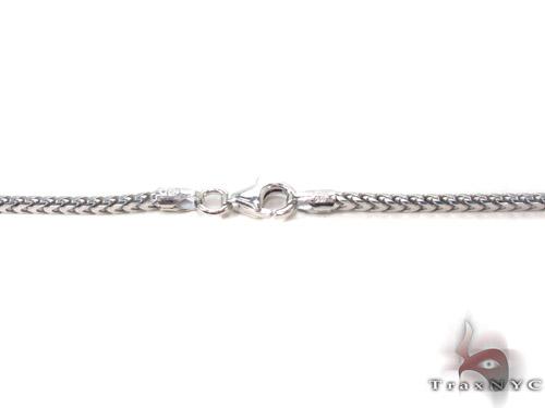 Silver Franco Chain 36 Inches, 2mm, 14.8Grams Silver