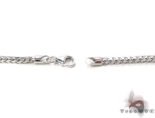 Silver Franco Chain 36 Inches, 3mm, 25.2Grams Silver