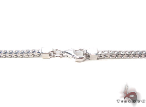 Silver Franco Chain 30 Inches, 3mm, 45.0Grams Silver