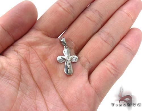 Silver Jesus Cross 34452 Silver