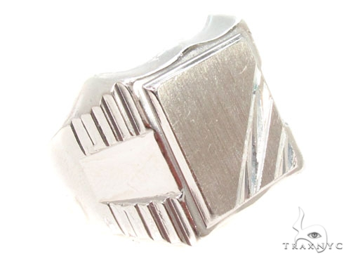 Silver Ring 36814 Metal