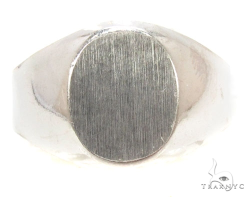 Silver Ring 36815 Metal