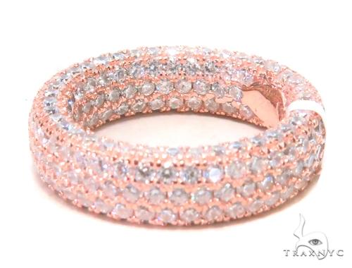 3 Row Silver Ring 45072 Anniversary/Fashion
