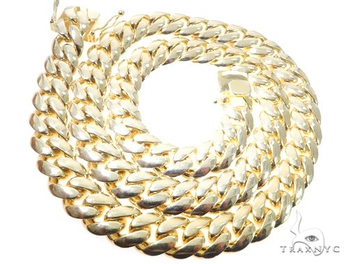 Silver Solid Miami Cuban Link Chain 32 Inches 17mm 481.0 Grams 64079 Silver