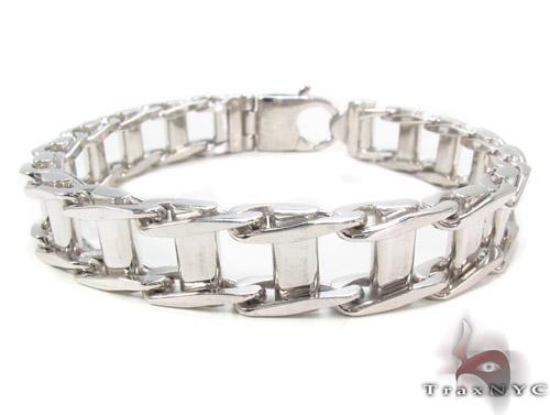 Silver Bracelet 34458 Silver