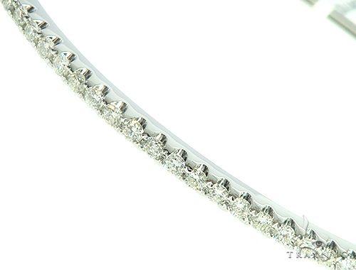 Single Row Bangle Bracelet 65867 Bangle