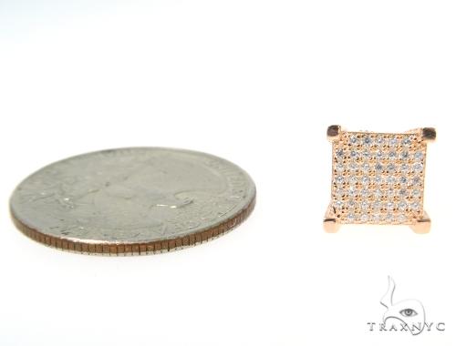Small CZ Sterling Silver Earrings 48916 Metal