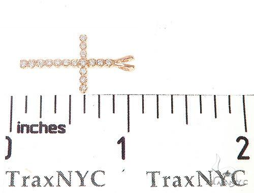 Small Round Cut Diamond Cross 65521 Diamond