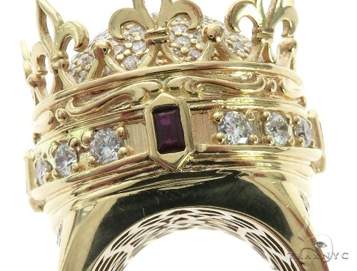 Small Royal Crown Ring Stone