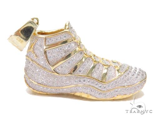 Sneakers Silver Pendant 43133 Metal