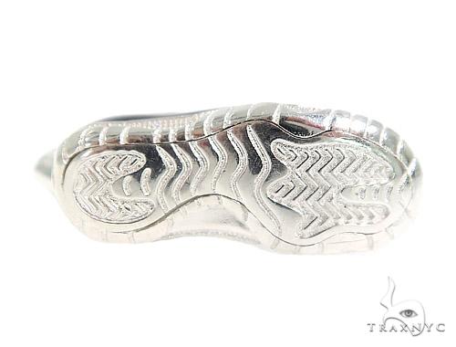 Sneakers Silver Pendant 49850 Metal