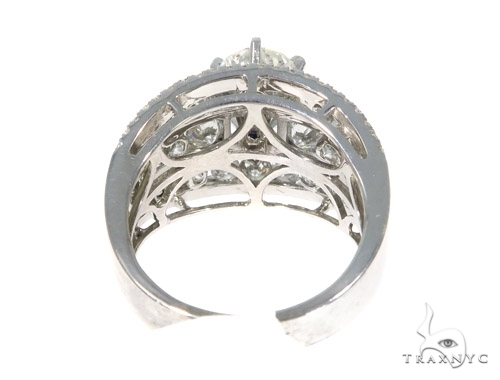 Snow White Prong Diamond Engagement Ring 44571 Engagement