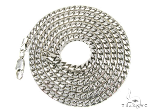 Solid Franco 10K 26 Inches 3mm, 45.1 Grams Chain Gold