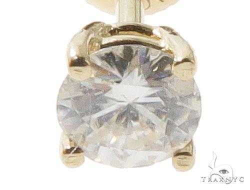 Solitaire Prong Diamond Studs 64377 Stone