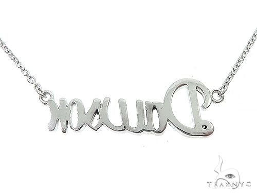 Special Custom Name Pendant Dawson 14K Gold with 16 inch chain Men Specials