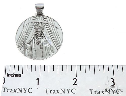 Special Custom Medallion Coin Centario Pendant with Engraving 65241 Metal