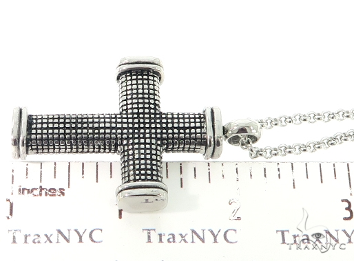 Stainless Steel Cross Crucifix Chain Set 57585 Stainless Steel