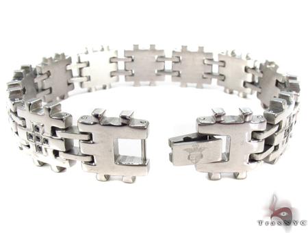 Stainless Steel Bracelet 31409 Stainless Steel