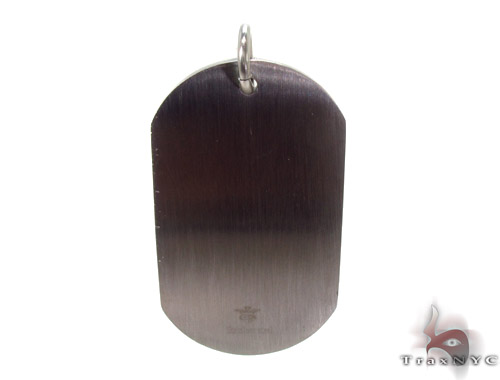 Stainless Steel Dog Tag n 24 Inches, 2mm 27.5 Grams Metal