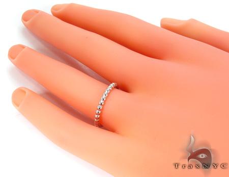 Stardust White Gold Ring 1 Anniversary/Fashion