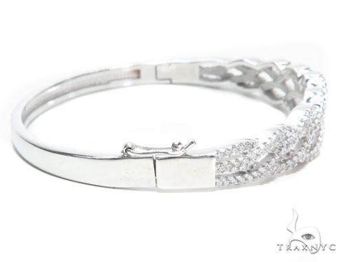 Sterling Silver Bracelet 41073 Silver & Stainless Steel