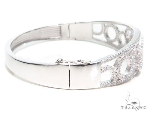 Sterling Silver Bracelet 41074 Silver & Stainless Steel