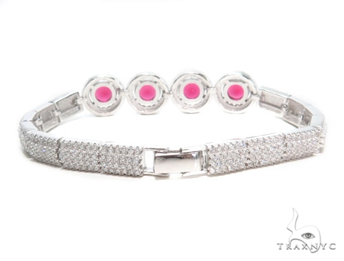Sterling Silver Bracelet 41087 Silver & Stainless Steel