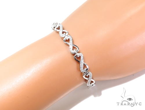 Sterling Silver Bracelet 41107 Silver & Stainless Steel