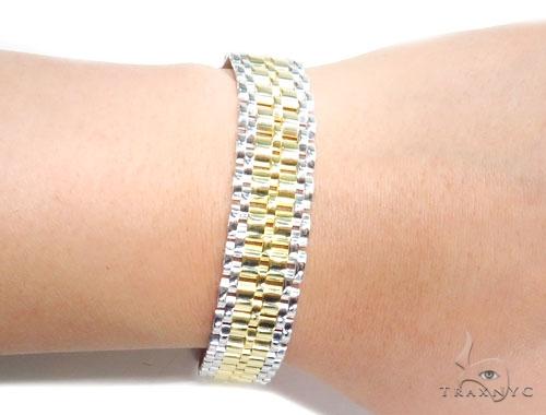 Sterling Silver Bracelet 41348 Silver