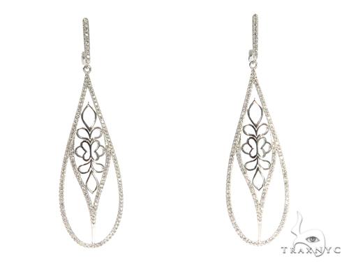 Sterling Silver Chandelier Earrings 48898 Metal