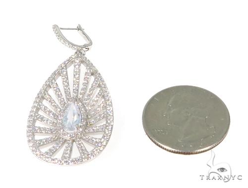Sterling Silver Chandelier Earrings 48899 Metal