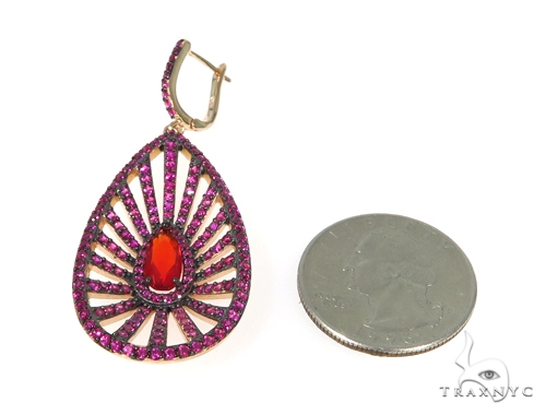 Sterling Silver Chandelier Earrings 48900 Metal