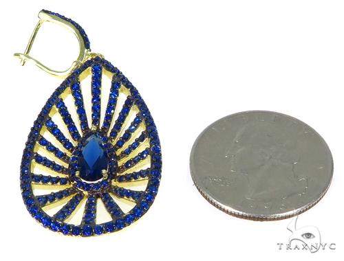 Sterling Silver Chandelier Earrings 48903 Metal