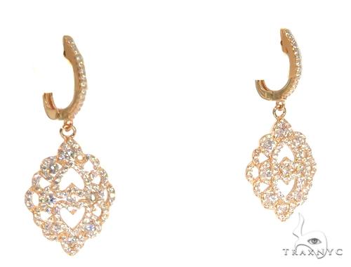 Sterling Silver Chandelier Earrings 48906 Metal