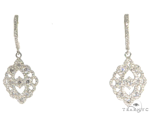 Sterling Silver Chandelier Earrings 48908 Metal