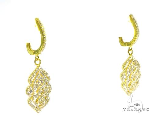 Sterling Silver Chandelier Earrings 48910 Metal