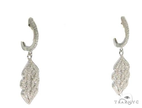 Sterling Silver Chandelier Earrings 48911 Metal