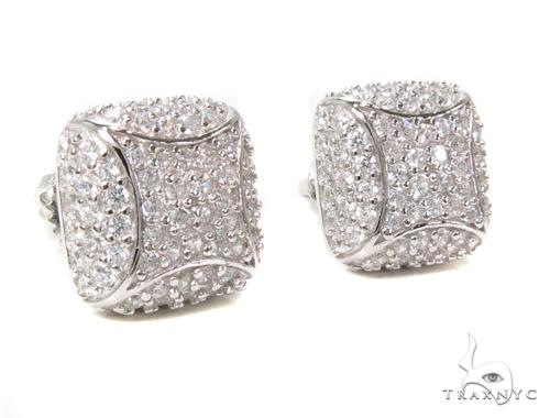 Sterling Silver Earrings 40308 Metal