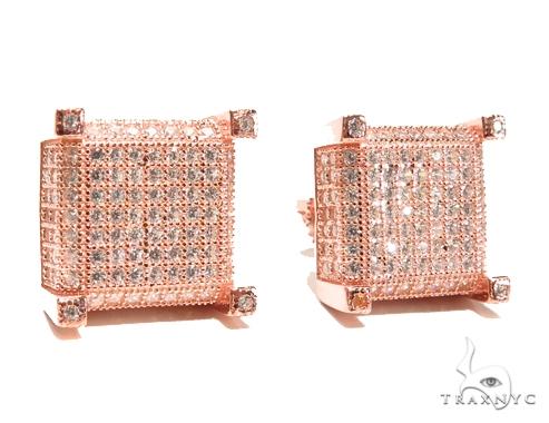 Sterling Silver Earrings 41281 Metal